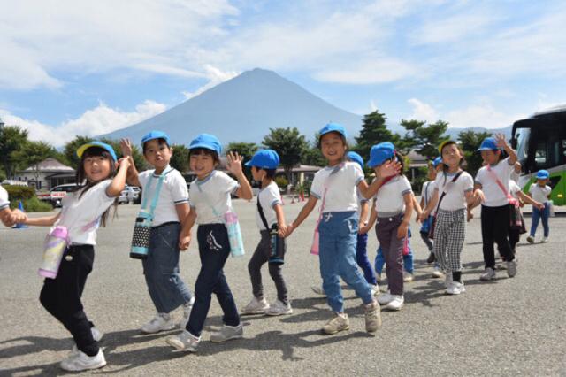 富士山がみれるよ~